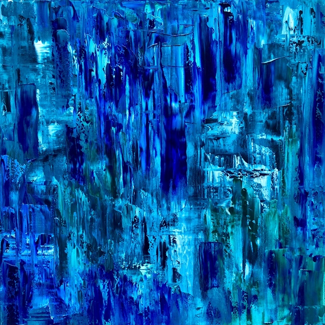 Brian Higgins, 'Tangled  Up  in  Blue', 2018, Alessandro Berni Gallery