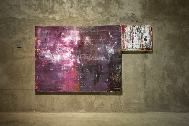 , 'Poly separation 聚离,' 2017, Qi Mu Space