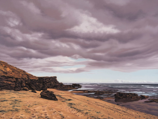 , 'Backbeach - Sorrento,' 2017, Flinders Lane Gallery
