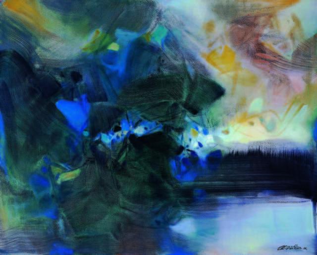 , 'Hommage á Turner,' 1995, Tina Keng Gallery