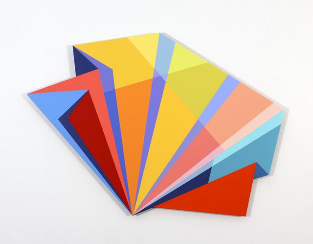 Rachel Hellmann, 'Refract', 2020, Painting, Acrylic on aluminum, Ellen Miller Gallery