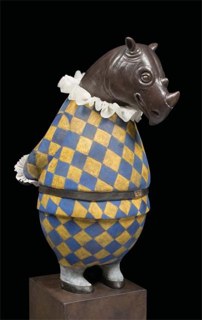 , 'Rhino Harlequin,' 2013, Cavalier Galleries