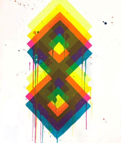 """Maya Hayuk, '""""808""""', 2019, New Union Gallery"""