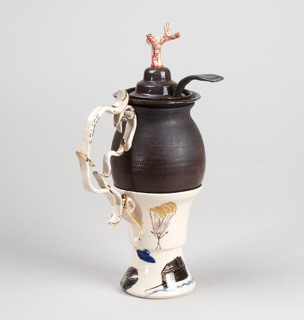 , 'Pionering Baroque Coconut,' 2014, David Risley Gallery
