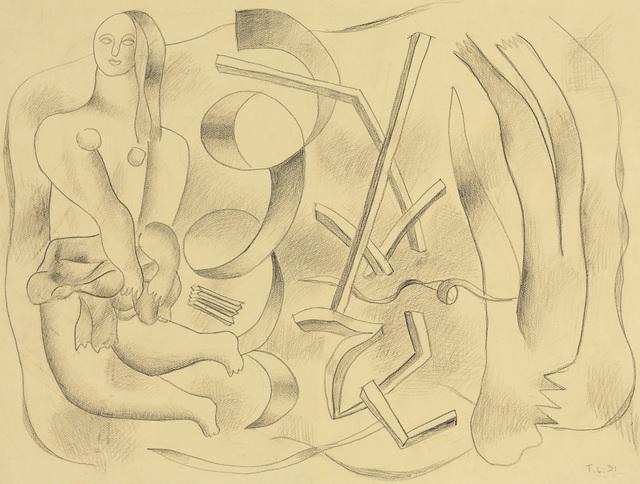 , 'La Danseuse (recto-verso),' 1931, Opera Gallery