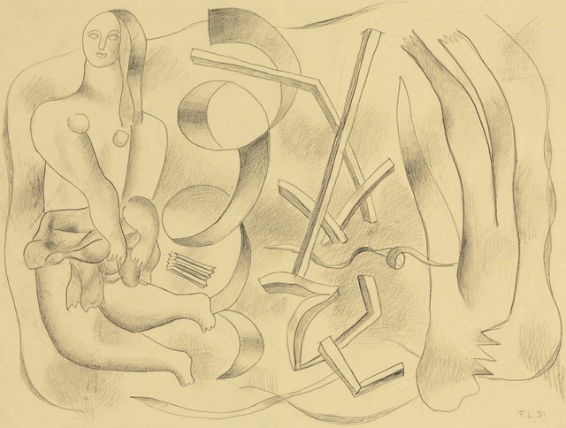 Fernand Léger, 'La Danseuse (recto-verso)', 1931, Opera Gallery