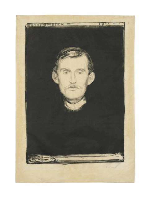 Edvard Munch, 'Self-Portrait', 1895, Christie's