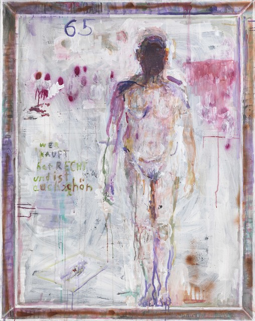 , 'untitled (65),' 2016/17, Galerie Michael Haas