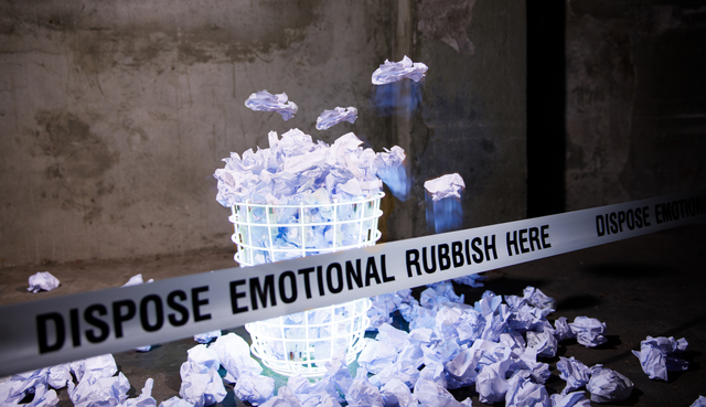 , 'EMOTIONAL RUBBISH 2,' 2017, Galerie Philippe David