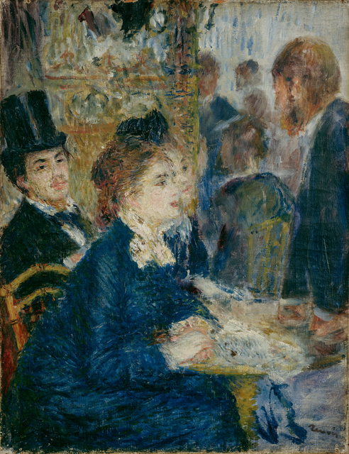 Pierre-Auguste Renoir, 'In the café', ca. 1877, Kröller-Müller Museum