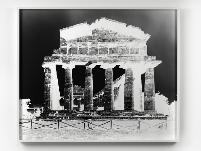 , 'Temple of Athena, Paestum, XII: October 13, 2015,' 2015, Alfonso Artiaco