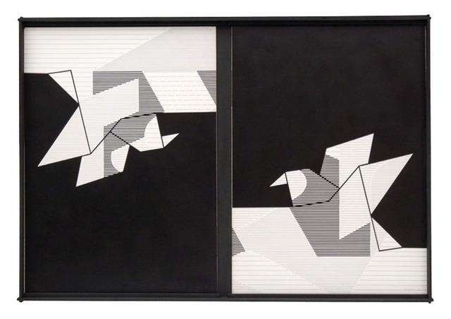 , 'Uma linha dura não dura,' 1977-1978, AM Galeria de Arte