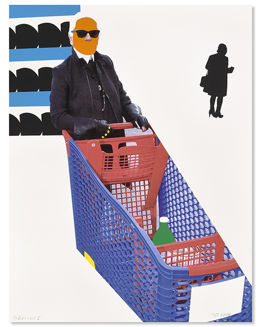 John Baldessari, 'Karl Lagerfeld', 2015, Upsilon Gallery