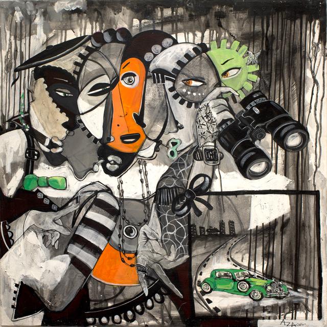 , 'Self sacrifice ,' 2016, AfricArt Gallery Hong Kong