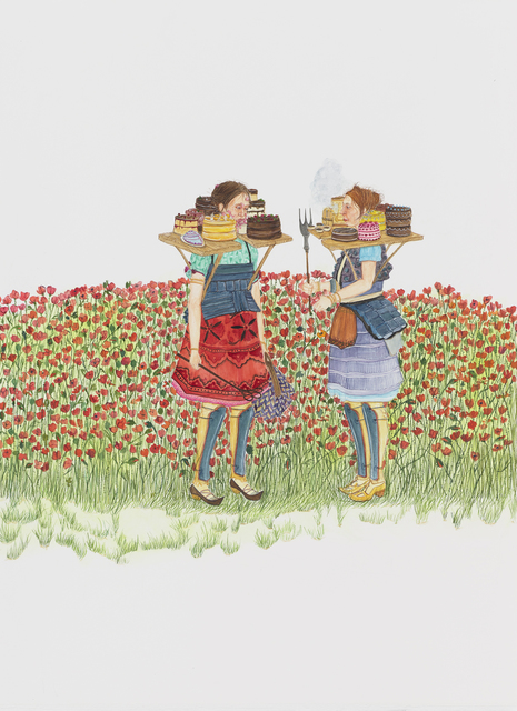 , 'Peddling in the Poppies,' 2016, Leslie Tonkonow Artworks + Projects