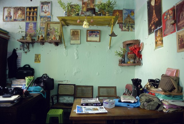 , '02_Still life with jasmine flowers and shrine in the accountant's office, ,' 2011, Art Vietnam Gallery