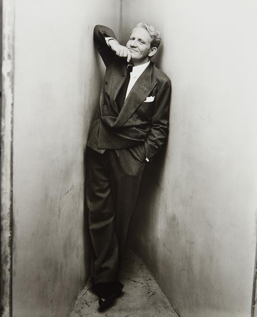 Irving Penn, 'Spencer Tracy, New York, March 23', 1948, Phillips