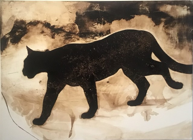James Griffith, 'Cougar with Milky Way', 2019, Craig Krull Gallery