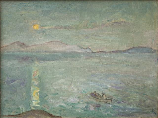 , 'Moonlit Solitude,' , Canadian Fine Arts