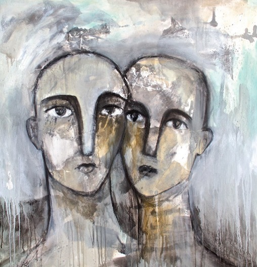 , 'faces series,' 2014, ArsCulture