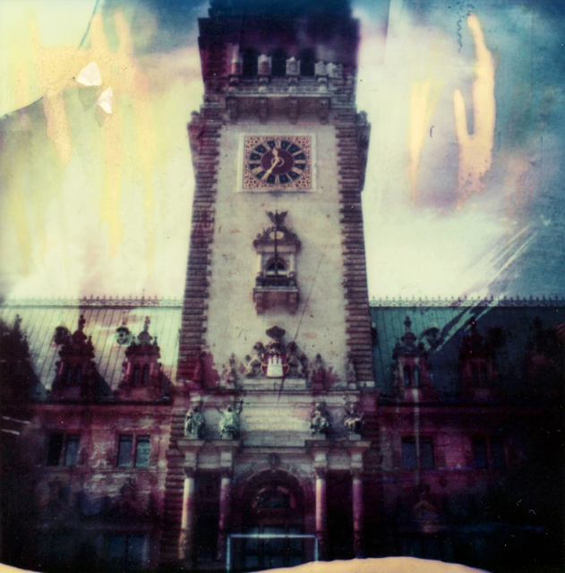 Carmen de Vos, 'Hamburg-Rathaus #02 - from the series Been there, done that', 2006, Photography, Archival pigment print on canvas, photo based on an expired Polaroid, Instantdreams