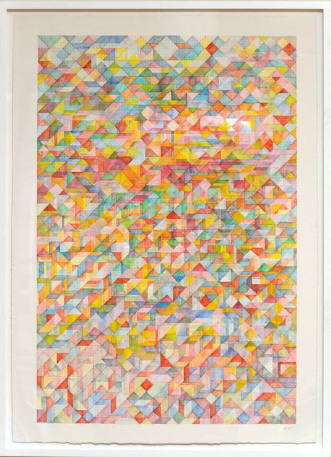 Lee Marshall, 'Mountain in Clouds', 2015, John Davis Gallery
