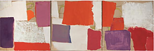 Charlotte Culot, 'Rayonnant Triptych', 2015, ARC Fine Art LLC