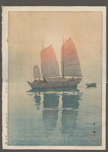 , 'Sailboats Morning,' 1926, The Art of Japan
