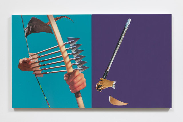 , 'Six Arrows and a Racket,' 2017, UTA Artist Space