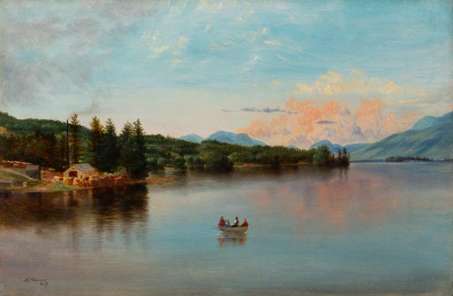 Nelson Augustus Moore, 'Lake George', 1867, Vose Galleries