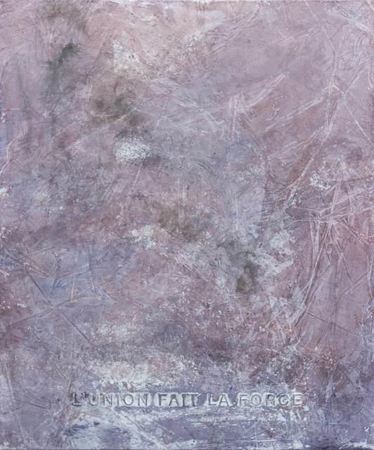 , 'L'Union Et La Force,' 2015, Galerie Ron Mandos