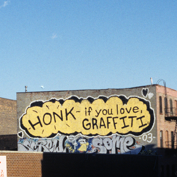 , 'Honk if You Love Graffiti,' , Saatchi Gallery