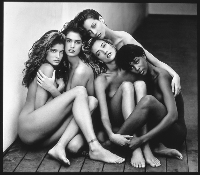 Herb Ritts, 'Stephanie, Cindy, Christy, Tatjana, Naomi, Hollywood, 1989', 1989, Museum of Fine Arts, Boston