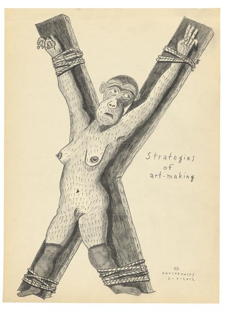 , 'Strategies of Art-Making,' 2012, Kalfayan Galleries