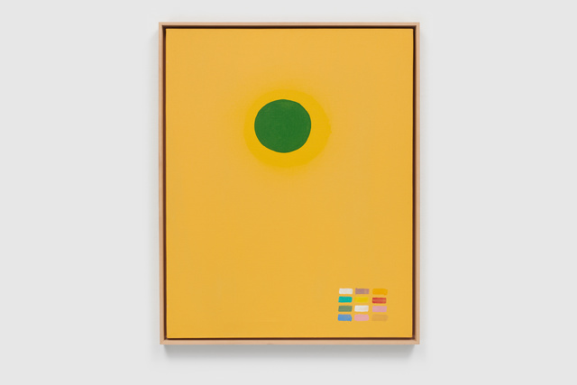 Adolph Gottlieb, 'Green Disc', 1969, Painting, Oil on linen, Helwaser Gallery