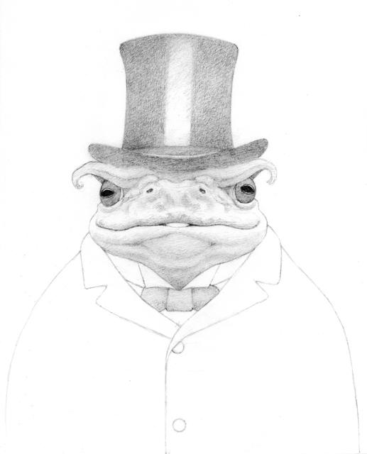 Travis Louie, 'Boss Toad', 2016, William Baczek Fine Arts