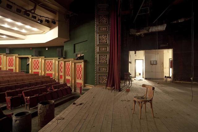 , 'Stage of Radio Cinema, Cairo,' 2010, Tintera