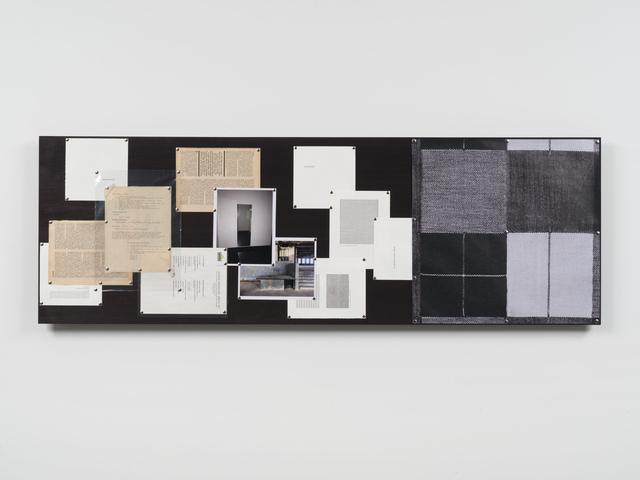 , 'Body/Building: Refraction,' 2017, Bortolami