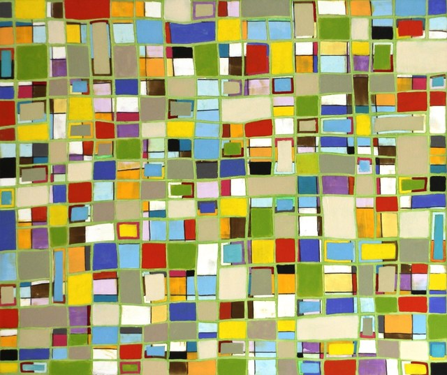 , 'Pattern Green,' 2014, Artspace Warehouse