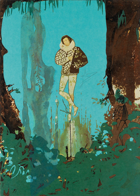 Salvador Dalí, 'The Prince of Love from the Trilogy of Love Portfolio', 1976, Print, Lithograph in colors, New River Fine Art