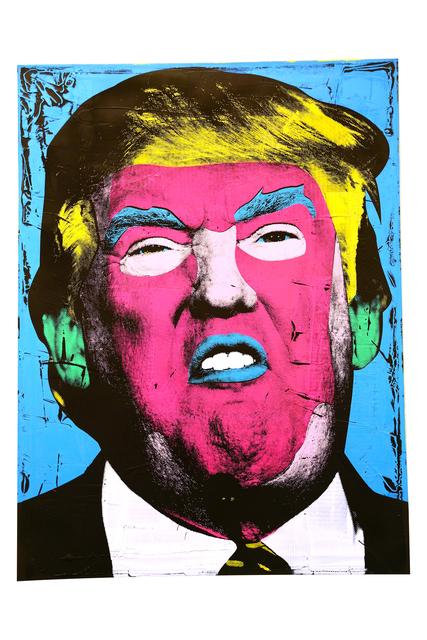 , 'Donald Trump,' 2016, The McLoughlin Gallery