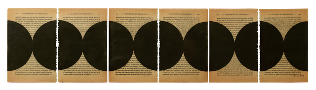 , 'Untitled pages drawings (6 pages),' 2013, FRED.GIAMPIETRO Gallery