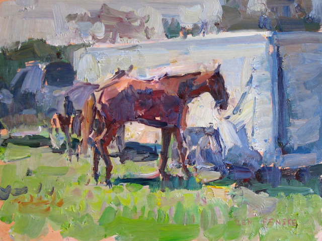 Ben Fenske, 'Polo Pony, sketch', 2013, Grenning Gallery