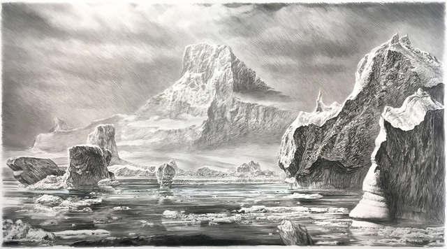 , 'Iceberg I,' 2017, Sears-Peyton Gallery