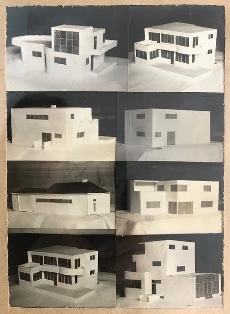 , 'Modelle von Architekturbauten,' 1932, SMUDAJESCHECK