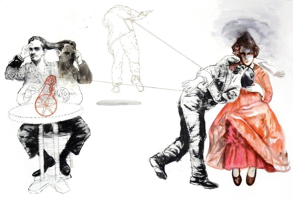 , 'Voile de Feu,' 2018, Loft Art Gallery