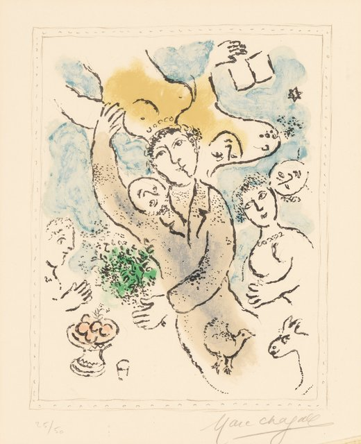 Marc Chagall, 'L'artiste I', 1978, Heritage Auctions