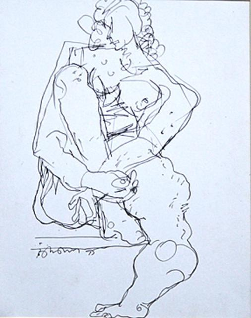 , 'Nude I,' 1995, The Noble Sage Collection