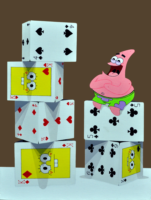 , 'The tower of card - Patrick Star,' 2015, Gallery A