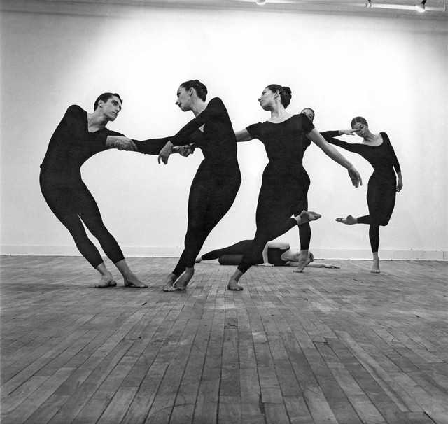 Robert Rauschenberg, 'Untitled [Cunningham dancers]', 1961, Robert Rauschenberg Foundation